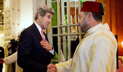 ها شنو قال جون كيري للملك محمد السادس عن قضية الصحراء