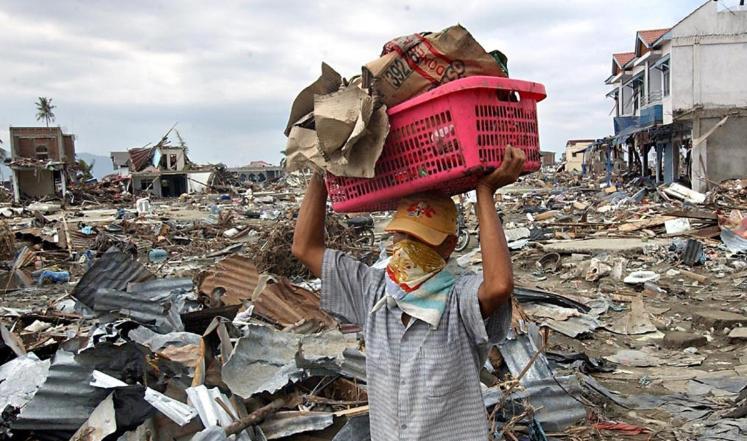 زلزال بقوة 8،3 درجات يضرب جزر مينتاواي غرب الأرخبيل الإندونيسي
