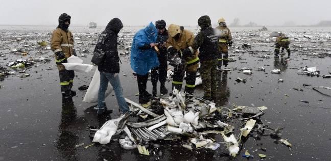 """العثور على الصندوق الأسود لطائرة """"فلاى دبى"""" التي تحطمت فى جنوب روسيا"""