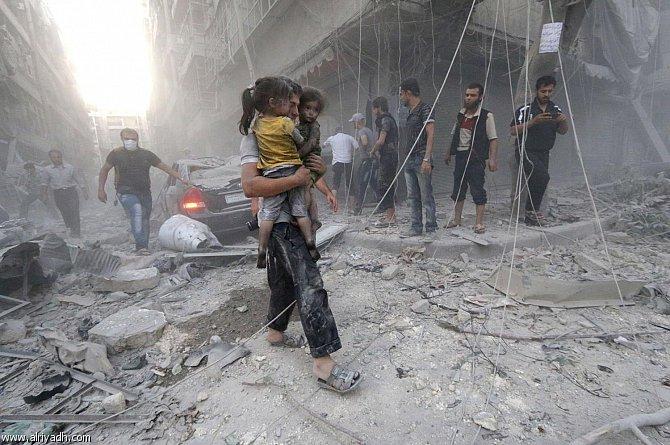 """2015 كان العام """"الاسوأ"""" بالنسبة الى السوريين"""