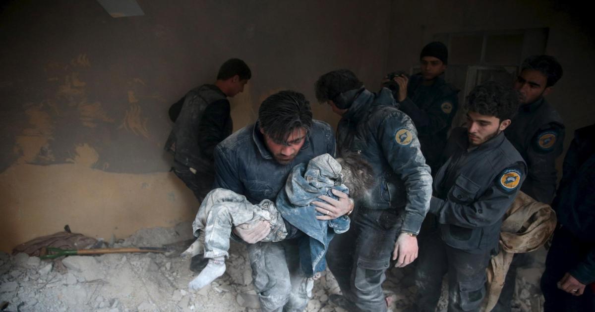 الدم السوري ما زال يسيل وجيش بوتين قتل  أزيد من 4400 شخص