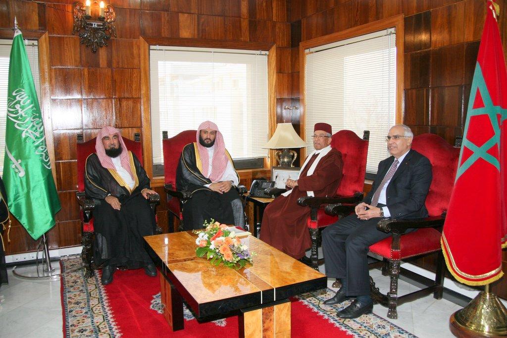 الرئيس الاول لمحكمة النقض يستقبل وزير العدل السعودي وهذا ما جرى بينهم
