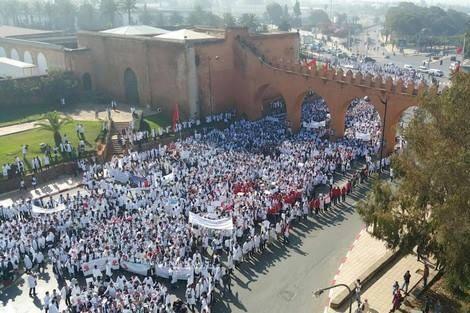 وزارة الداخلية تحذر الاساتذة المتدربين من الخروج في التظاهر وهذا ما ستقوم به