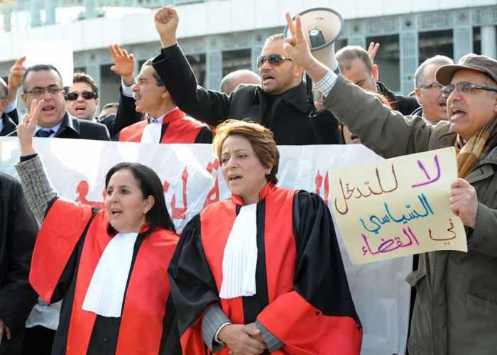 الرئيس التونسي يوقع قانون المجلس الاعلى للقضاء رغم معارضة نقابات القضاة