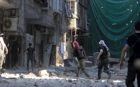 داعش يخطف اكثر من 300 عامل في شركة اسمنت قرب دمشق