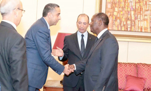 المغرب وبوركينافاسو يعتزمان تعزيز التعاون الثنائي في المجال الأمني
