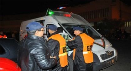 وفاة شخص تم توقيفه  بمفوضية الشرطة بالعيون الشرقية