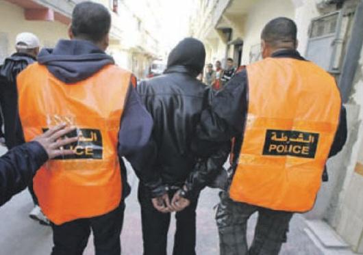 عناصر الشرطة تضطر لإطلاق الرصاص لتوقيف تاجر مخدرات