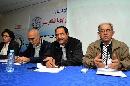 كواليس مؤتمر الجمعية المغربية لحقوق الانسان: أموال أجنبية، ديمقراطية على مقاس النهج، العداء للصحراء