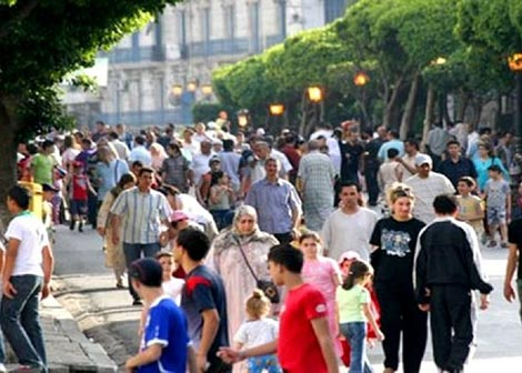 عدد سكان الجزائر يتخطى 40 مليون نسمة