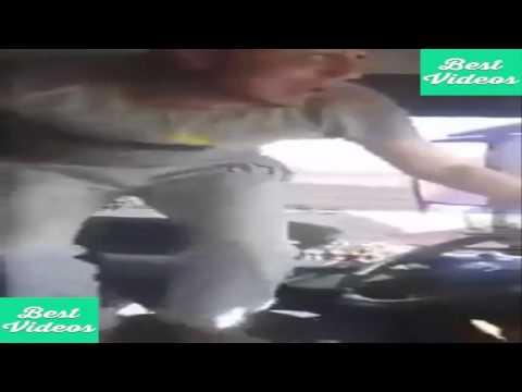 فيديو خطير لسائق شاحنة يرقص أثناء السياقة