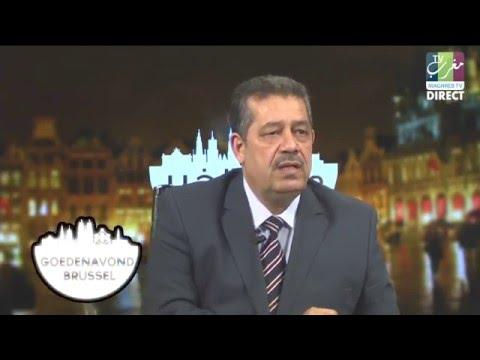 شباط محيح في بلجيكا…يواجه الارهاب والتطرف ويدافع عن الاسلام