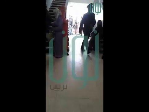 الفيديو الذي يكشف كذب بوتازوت وأنها لم تفقد الوعي