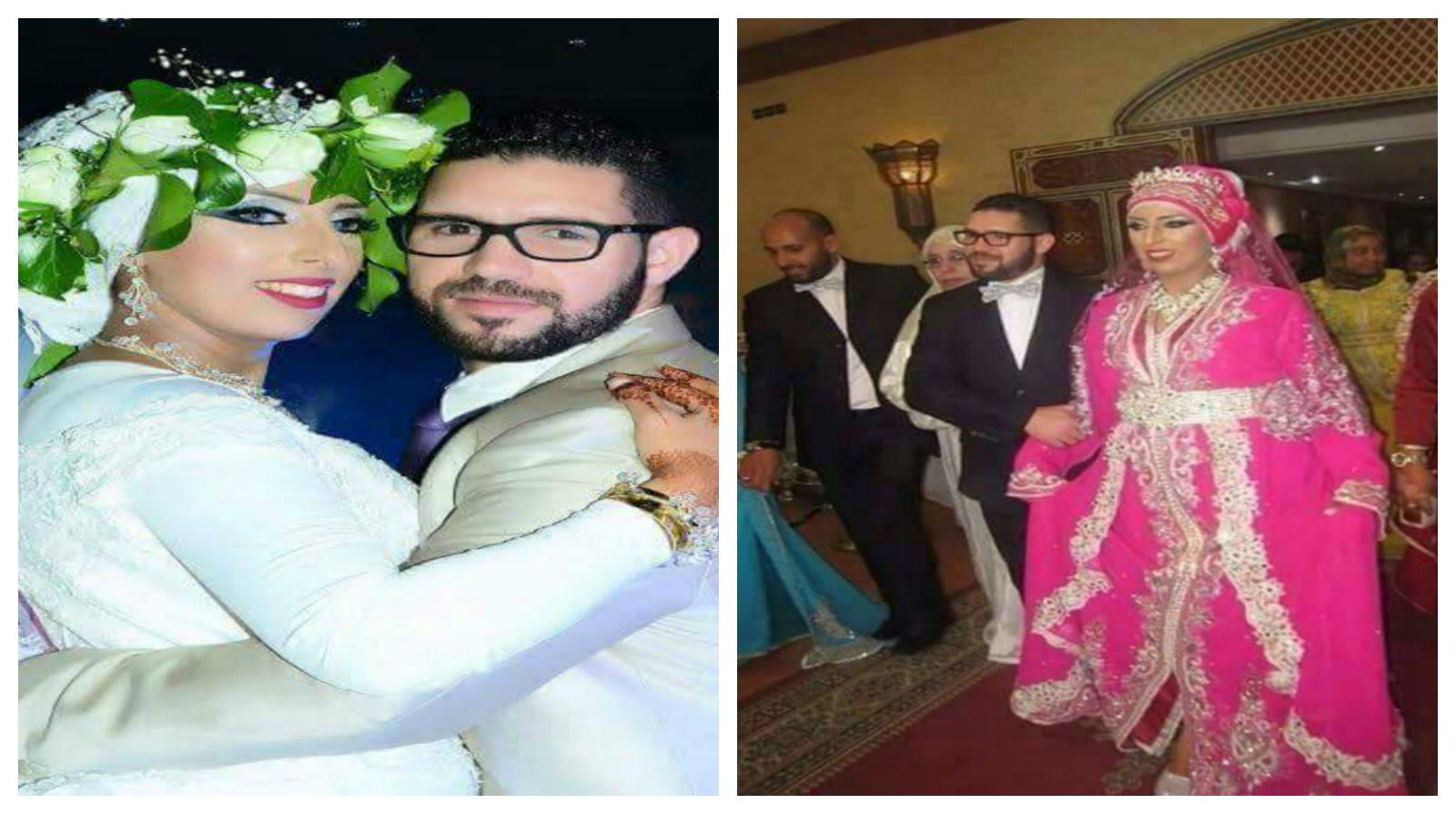 فضيحة برنامج لالة لعروسة : صور عرس كوبل مدينة مكناس محمد و صفاء