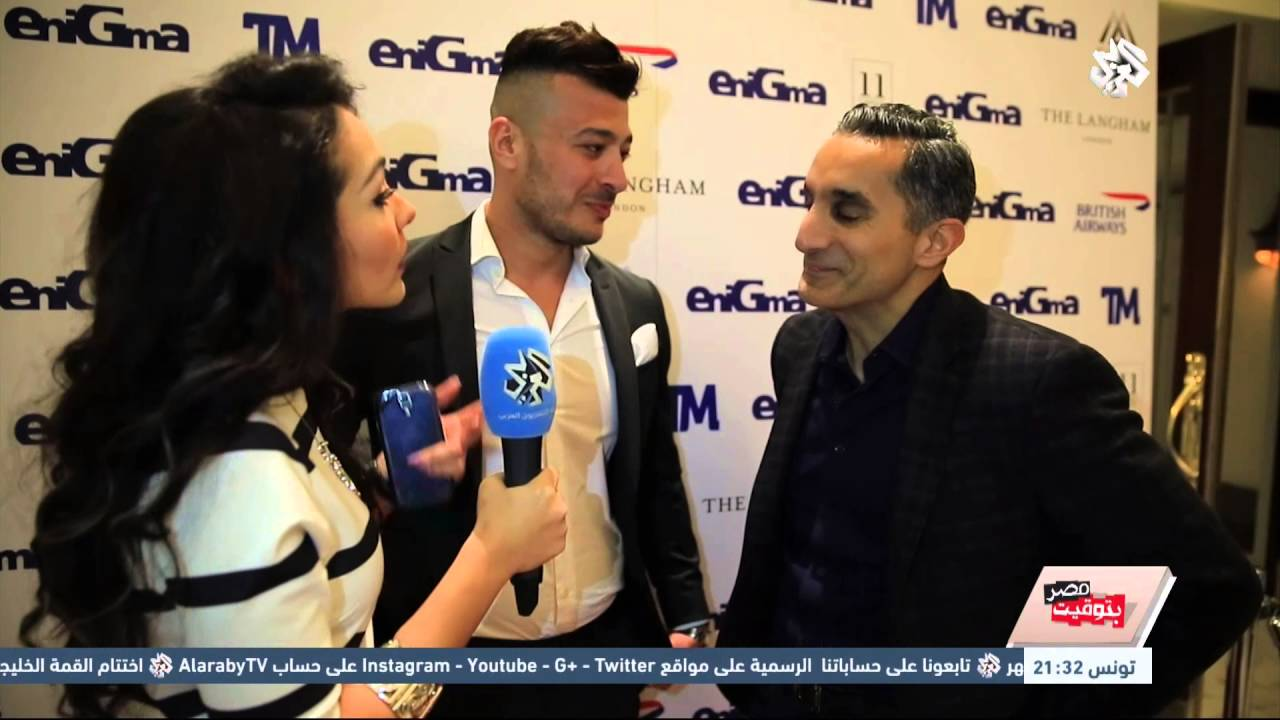 باسم يوسف يسخر من مذيعة سعودية