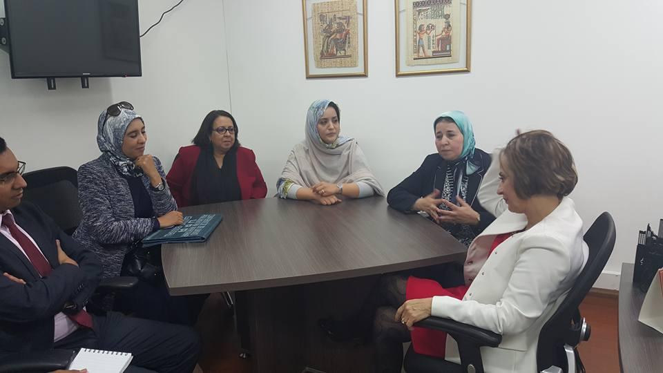 بالصور…برلمانيات مغربيات في مهمة ديبلوماسية بكلومبيا