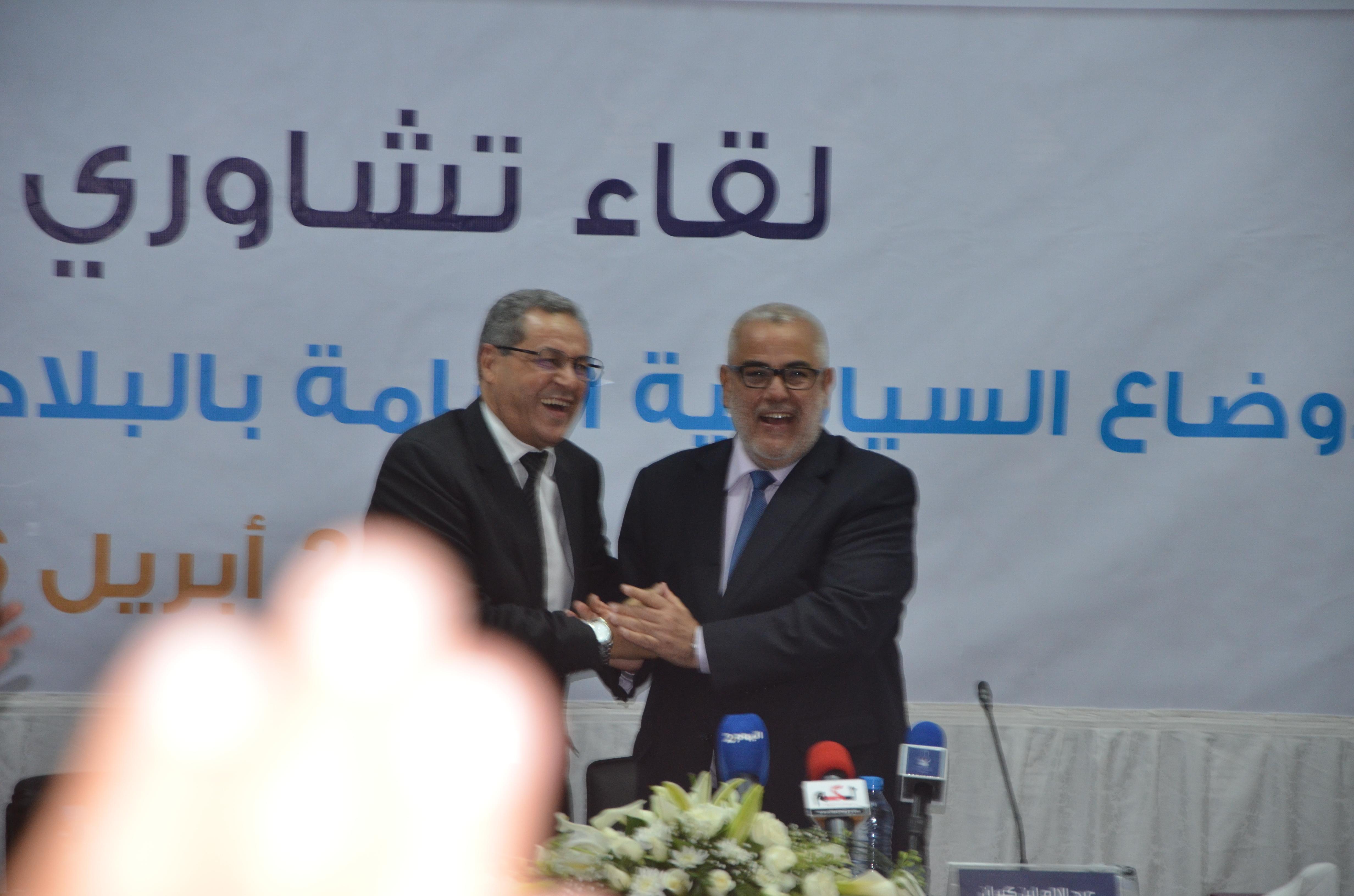 """بن كيران…..""""انا مكاجي مع الملك…وما باغيش نعيشيو تجربة بنعلي في تونس"""