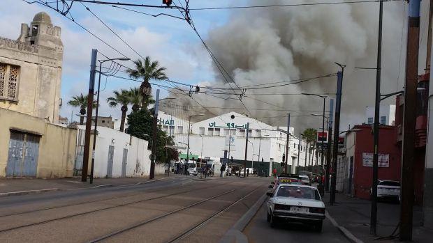 """الشرطة العلمية تدخل على الخط في حريق """"لابروفان"""" لصناعة الأدوية"""