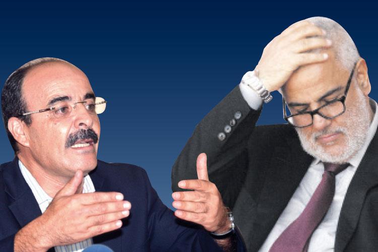 """البيجدي…يتهم البام بتخذير المغاربة والمؤسسات بسبب """" الحشيش"""""""