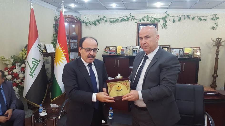 اش مشى يدير الياس العماري في كوردستان العراق..يدعم الانفصال ام مبعوث خاص