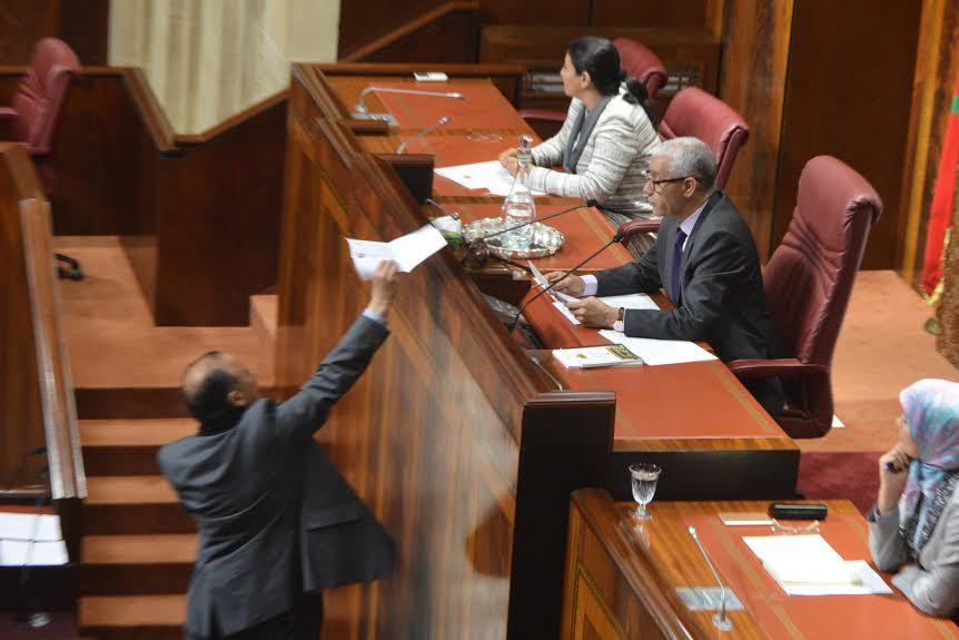 عاجل: برلماني يقدم استقالته احتجاجا على فاجعة والماس بحضور بن كيران