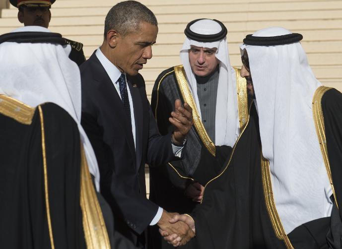 الملك وأوباما يبحثان قضية مكافحة الإرهاب  وداعش
