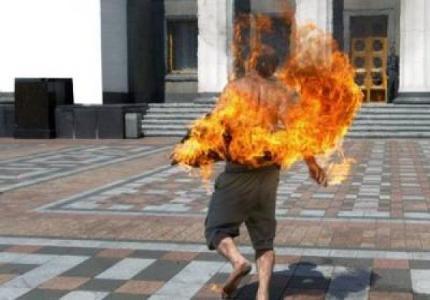 """بعد"""" مي فتيحة"""" معاق يضرم النار في نفسه بالقنيطرة"""