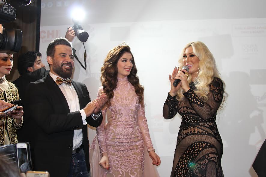 نورهان وأنور الامير يتوجان ملكة جمال ستار أكاديمي للعام 2016 الجزائرية سهيلة بن لشهب