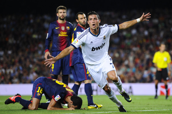 رونالدو يخطف الانتصار لريال على برشلونة بقمة الدوري الاسباني