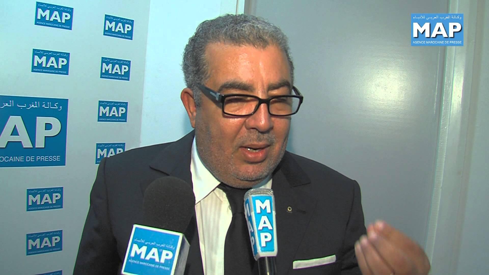"""وكالة المغربي العربي للأنباء لصاحبها الهاشمي تخطئ في اسم الملك وتكتب """" محمد السادات"""""""