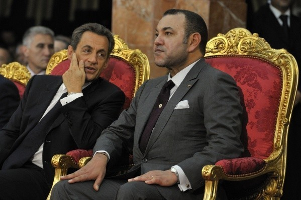 """ساركوزي: الملك محمد السادس """"رجل عظيم ويمكن التعويل عليه""""."""