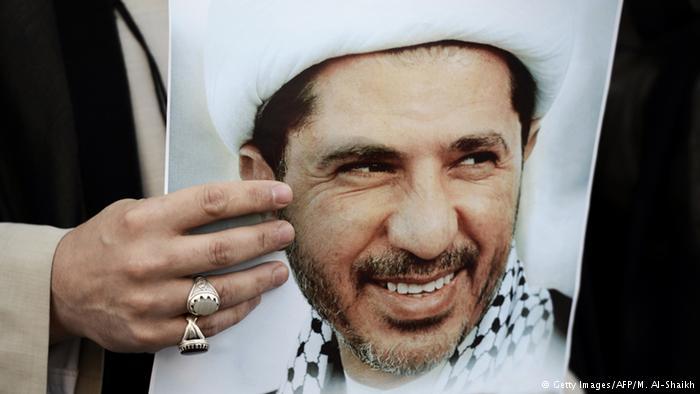 محكمة الاستئناف البحرينية تشدد عقوبة السجن بحق الشيخ علي سلمان وجمعية حقوقية تحتج
