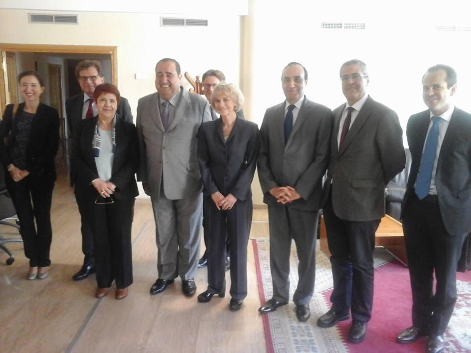 الاتحاد الاشتراكي يوسع ديبلوماسيته ويستقبل رئيسة لجنة العلاقات الخارجية بالبرلمان الفرنسي