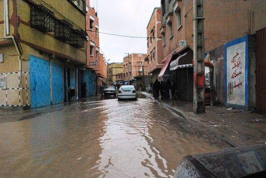وزارة الداخلية تلعن عن حالات وفيات بسبب الفيضانيات بورزازات وتاردوانت