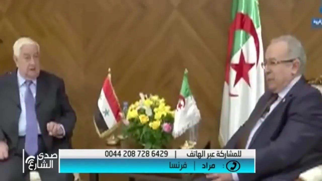 جزائري على قناة جزائرية تحيا المغرب و تسقط الجزائر