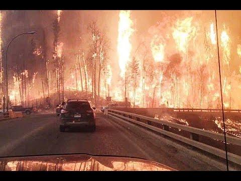 حريق مهول في كندا يُجبر آلاف السكان على الفرار