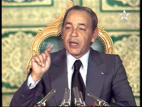 من خطب الملك الحسن الثاني الخاصة بالمسيرة الخضراء