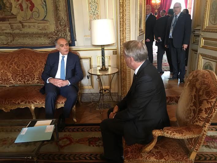 مزوار وايرو يتباحثان بباريس…اشادة بموقف فرنسا في قضية الصحراء و بمستوى العلاقات الثنائية