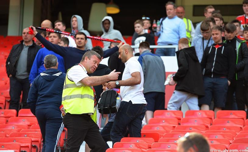 الغاء مباراة يونايتد ضد بورنموث بعد العثور على طرد مشبوه
