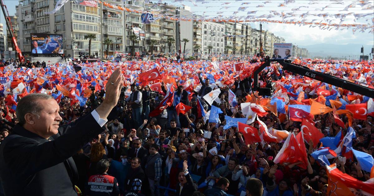 حزب العدالة والتنمية التركي يدعو الى مؤتمر استثنائي