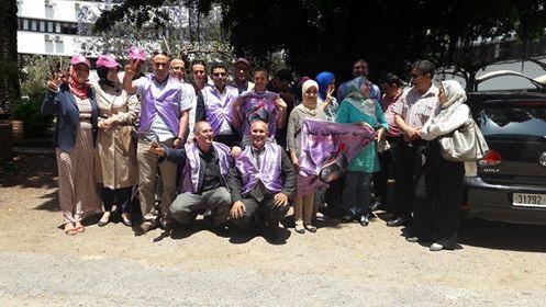 نقابيون يحتجون على وزارة التعمير وإعداد التراب الوطني وهذه مطالبهم