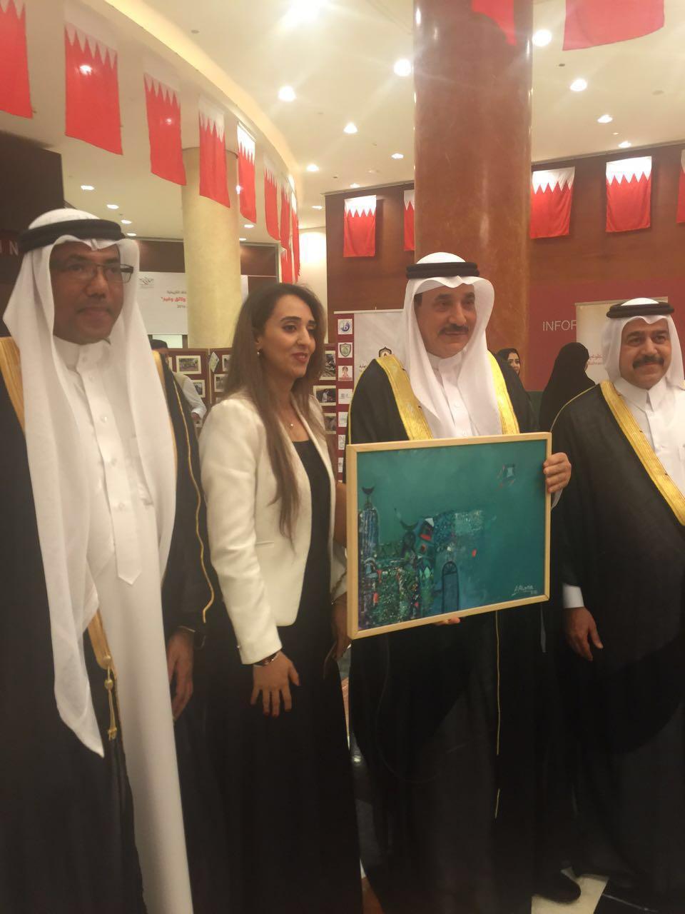 مشاركة متميزة للفنانة علياء العزي في اليوم الوطني للتطوع