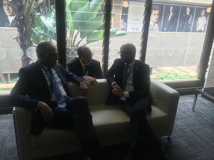 رئيس كوب 22 يلتقي عددا من وزراء البيئة بنيروبي