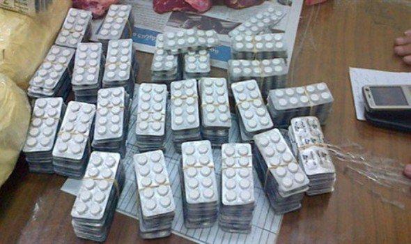 إجهاض عملية تهريب أزيد من مائة الف قرص مخدر  من أوروبا في اتجاه المغرب