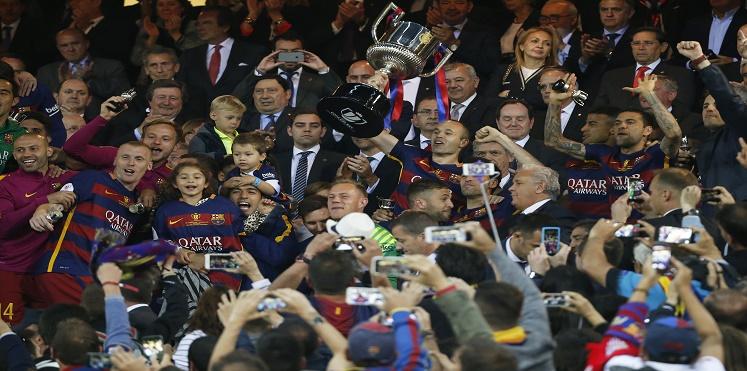كأس إسبانيا.. برشلونة يحتفظ باللقب