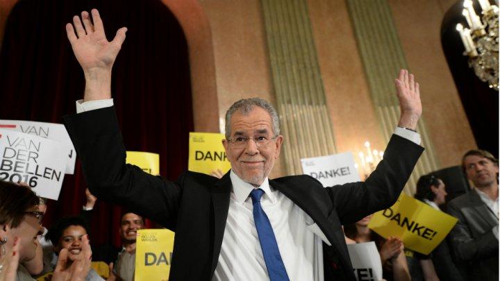 المرشح البيئي ألكسندر ينتصر على مرشح اليمين المتطرف بالانتخابات الرئاسية النمساوية