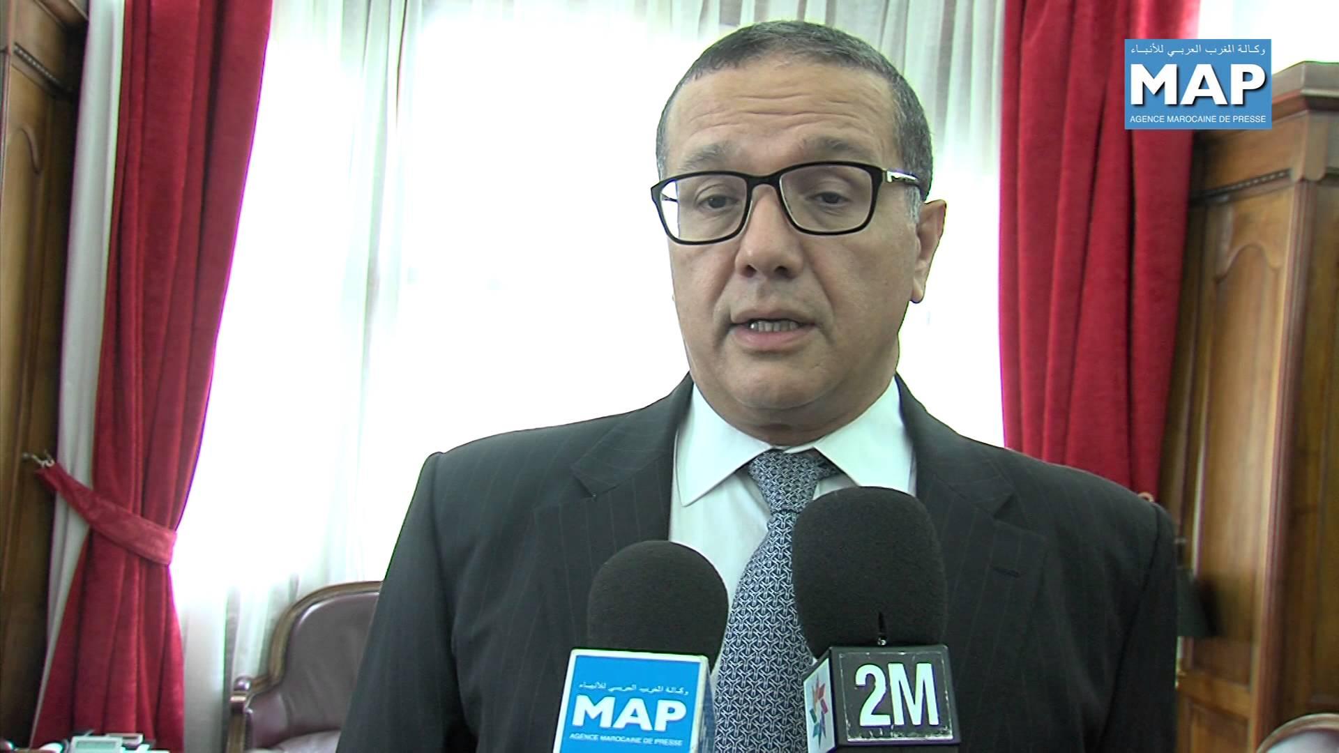 """وزير الاقتصاد والمالية بوسعيد في المغرب ماشي في الصين حسب """"لاماب"""" ديال الهاشمي"""