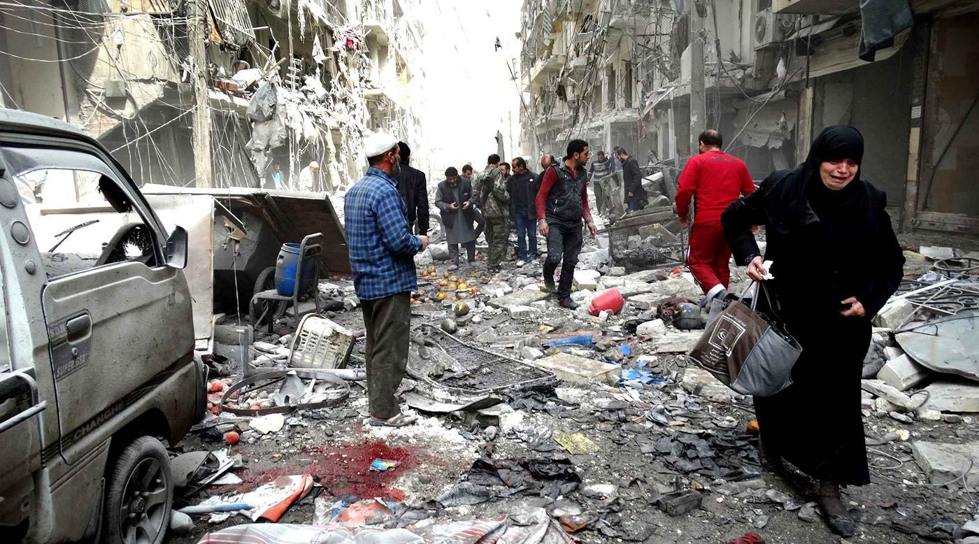 هدوء نسبي في حلب مع بدء سريان الهدنة