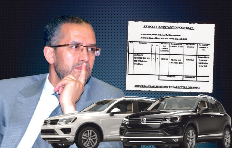 الشوباني يحجز 40 غرفة بفندق شهير بميدلت بعد اقتنائه 7 سيارات فارهة لأعضاء مجلسه