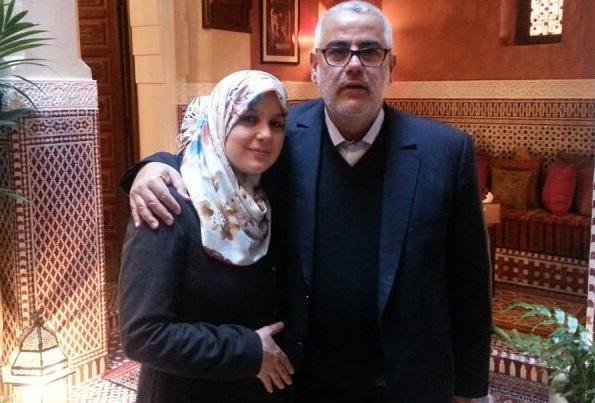 زوجة الشوباني سمية بنخلدون تبارك لإبنة بن كيران الوظيفة الجديدة…وتقول مستحيل ان يتدخل بنكيران في توظيفها